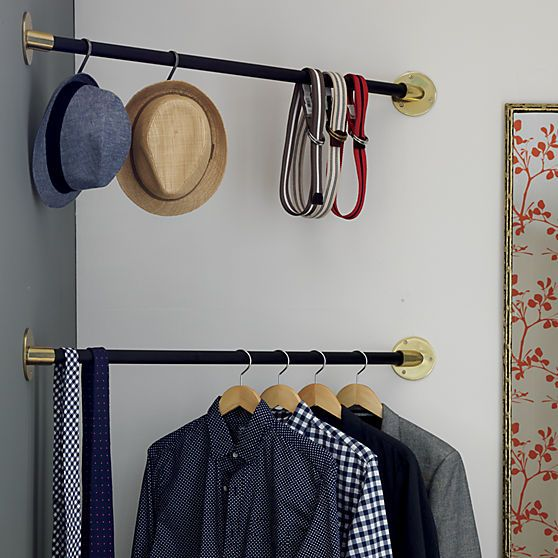 Http Coreyrossiter Foxroach Com These Corner Hanging Bars Are Brilliant Maximize The Usable Space In You Corner Closet Home Decor Bedroom Small Closet Space
