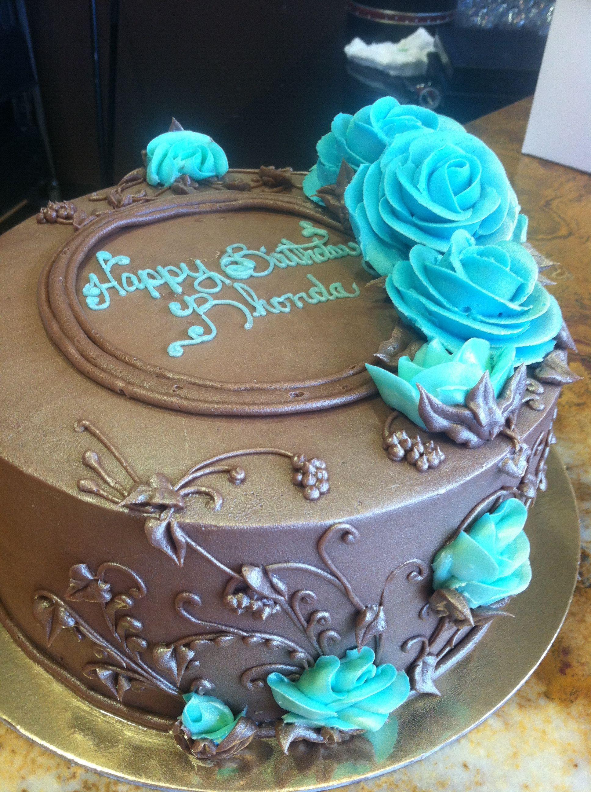 Buttercream Birthday Cake | Buttercream birthday cake ...