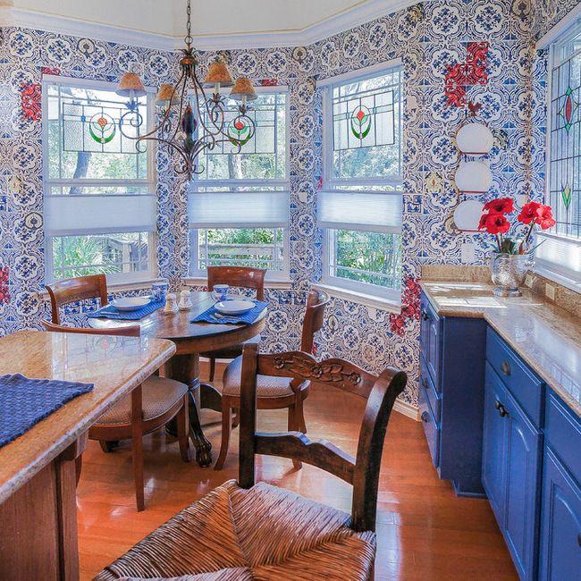 Country Cottage Kitchen. Younique Interior Designs San Antonio, TX ...