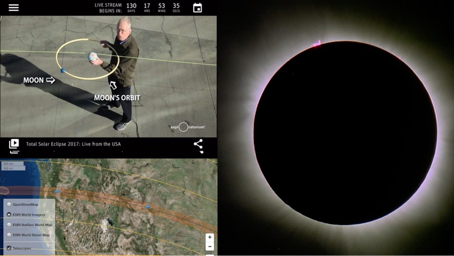New Mobile App from Exploratorium Museum Explores Solar Eclipse