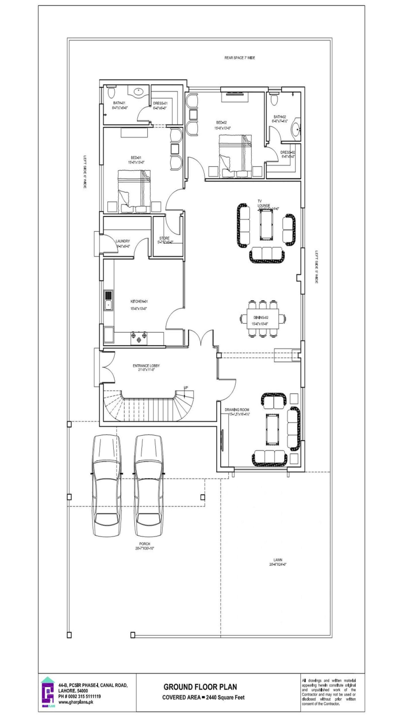 20 Marla Bungalow House Design 50 Ft X 90 Ft Bungalow House Design House Design House Plans