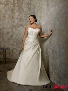 Fuller Figure Wedding Dresses