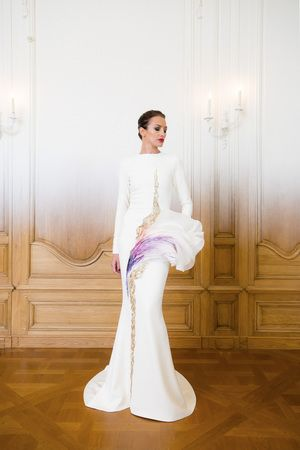 Stephane Rolland Couture Fall Winter 2014 Paris - NOWFASHION