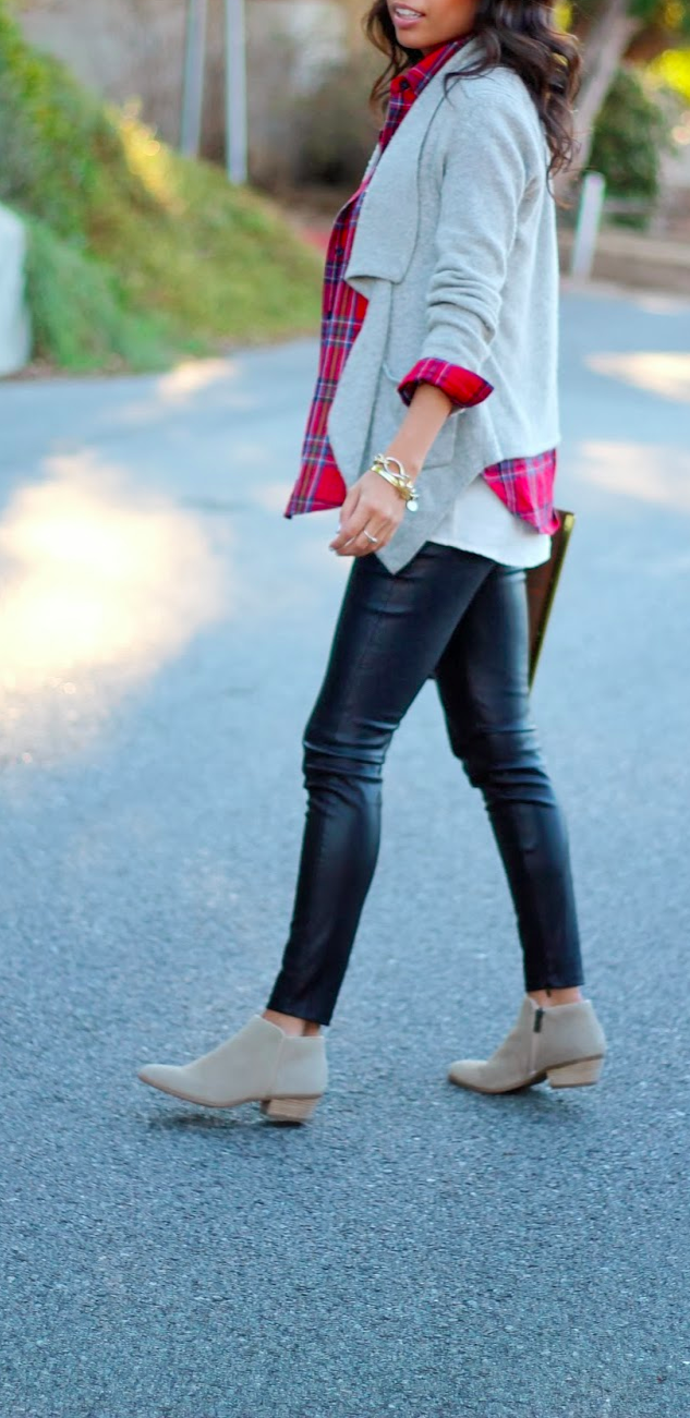leather layering