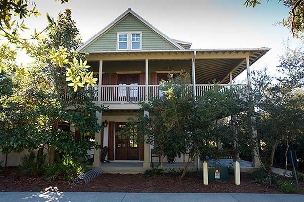 creole house plans with porches | gulf side home, limited gulf views