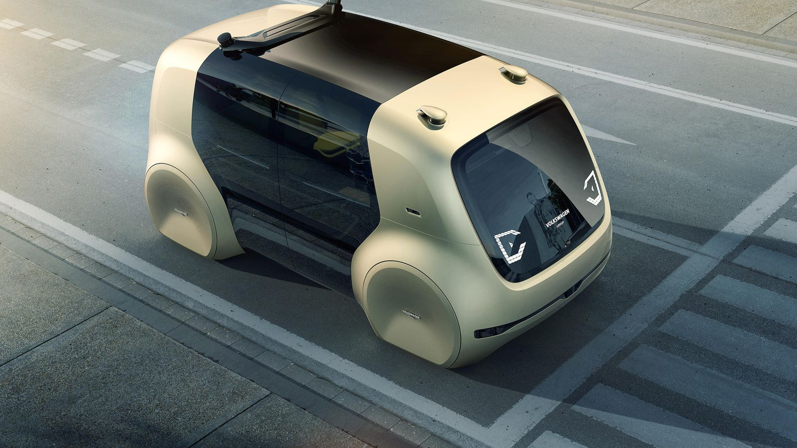 Volkswagen Takes Driver Less Tech To Next Level Adds Highly Automated Cars On Road Autonomous Vehicle Electric Cars Amazing Cars