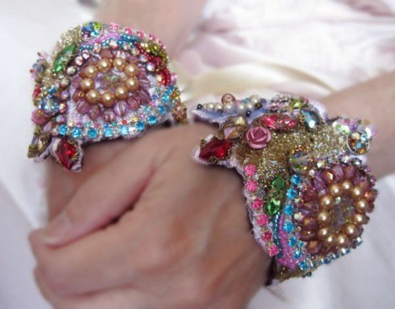 Reserved Marie Antoinette Queen Of France Custom Embroidered Lace Cuffs Set 4 2 Wrists