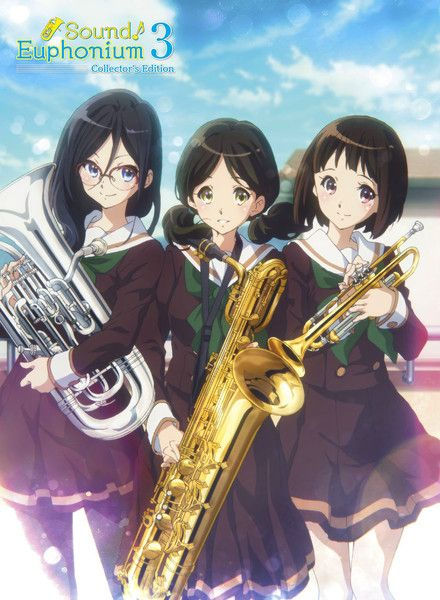 Sound Euphonium Collector S Edition 3 Blu Ray Dvd Gwp Anime