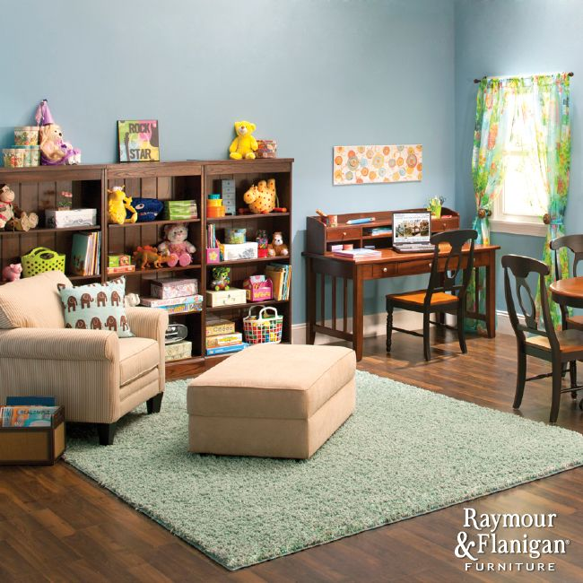 Play And Study Room: Work Together, Play Together
