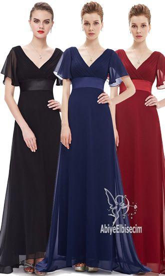 Uzun Abiye Elbise Kisa Kollu Sifon Abiye Abiye Elbise Kisa Abiyeler Uzun Abiye Online Abiye Ucuz Elbise Sifon Elbise Elbise Modelleri