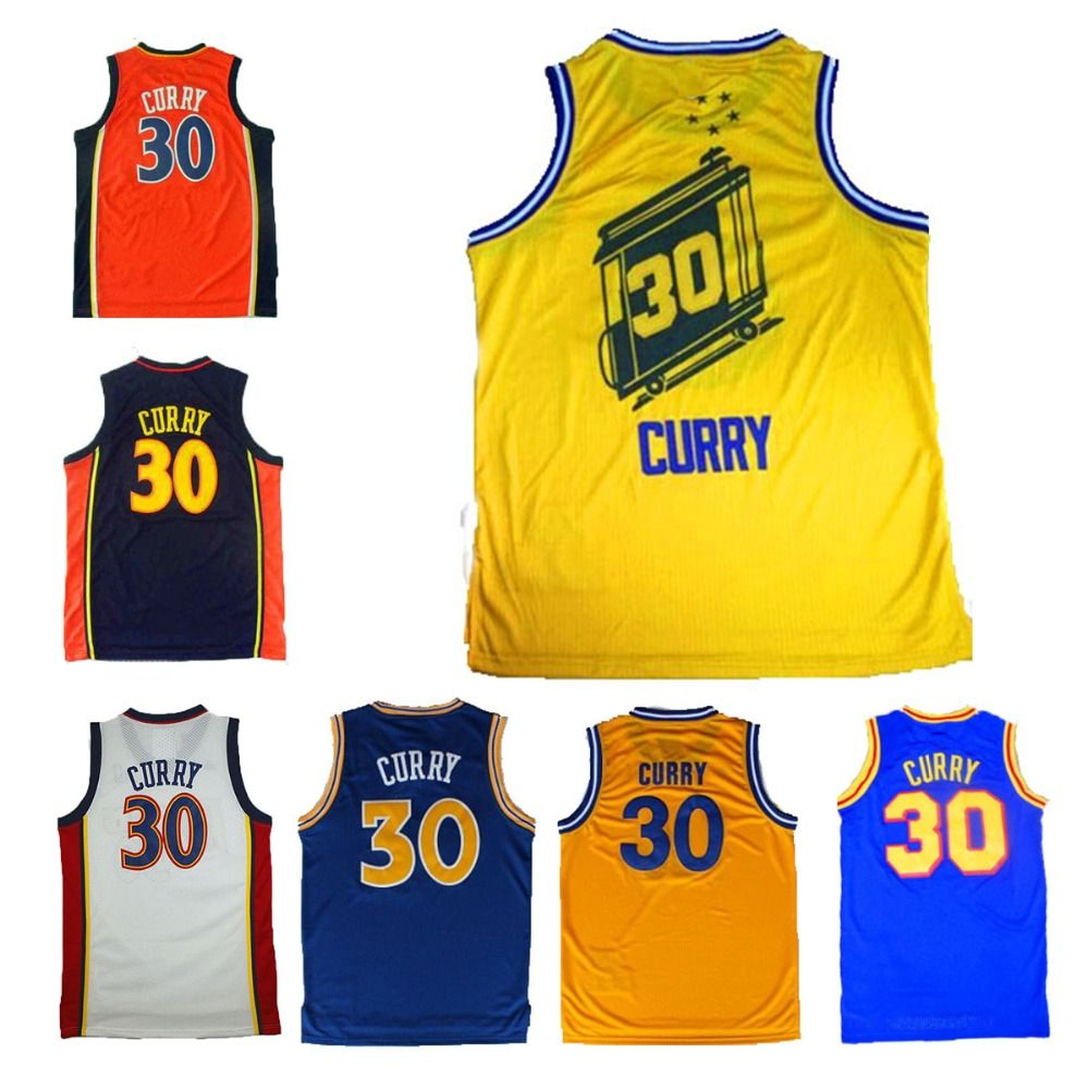 pnljo Aliexpress.com : Buy Stephen Curry Jersey throwback jersey, Golden