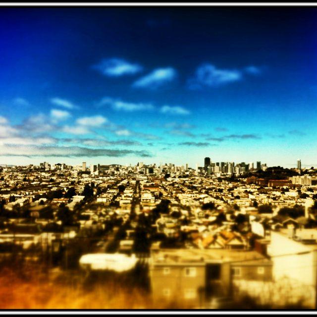 iPhone Tilt-Shift San Francisco, CA