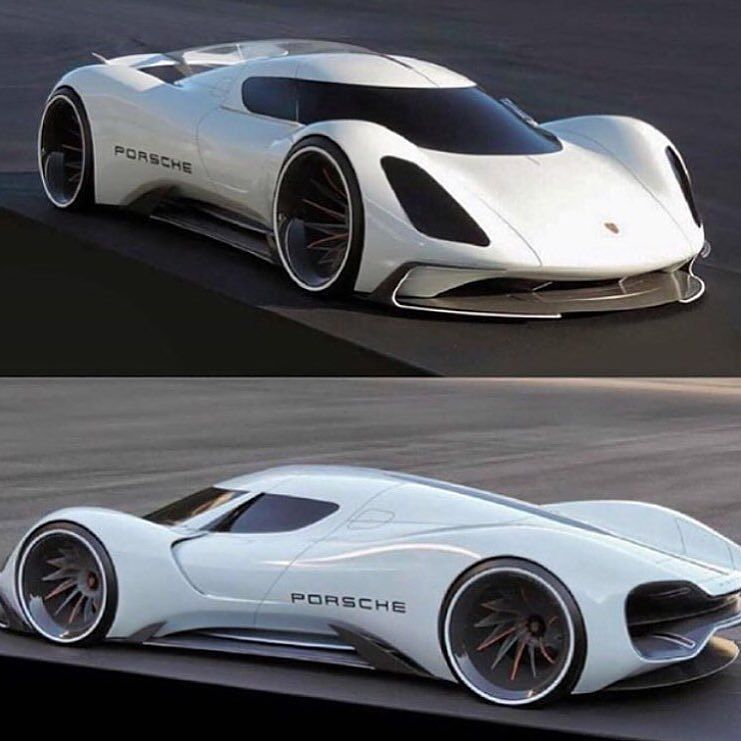 Porsche Concept Car Courtesy Of Luxury And Millionaires By Gearheadworld Super Cars Sports Cars Luxury Porsche