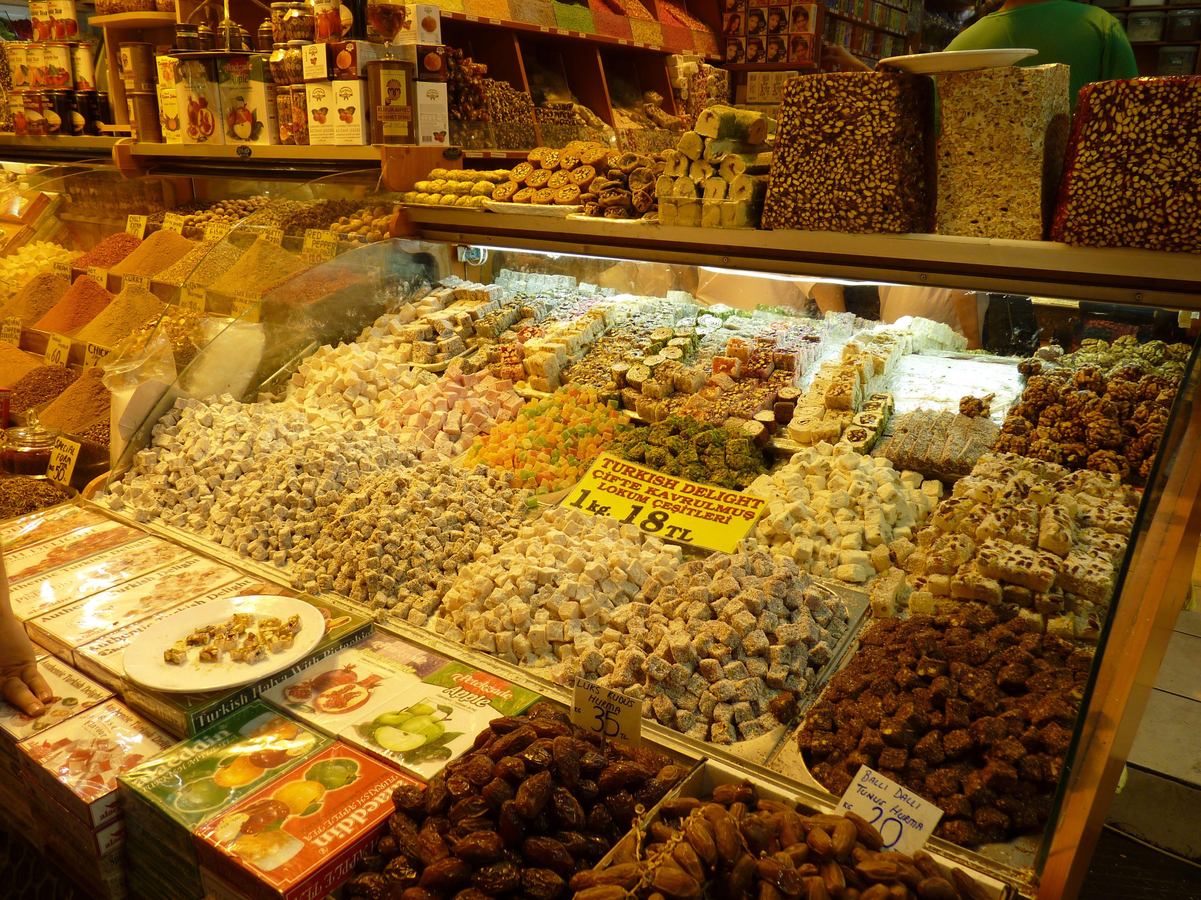 Estambul. Bazar de las Especias.