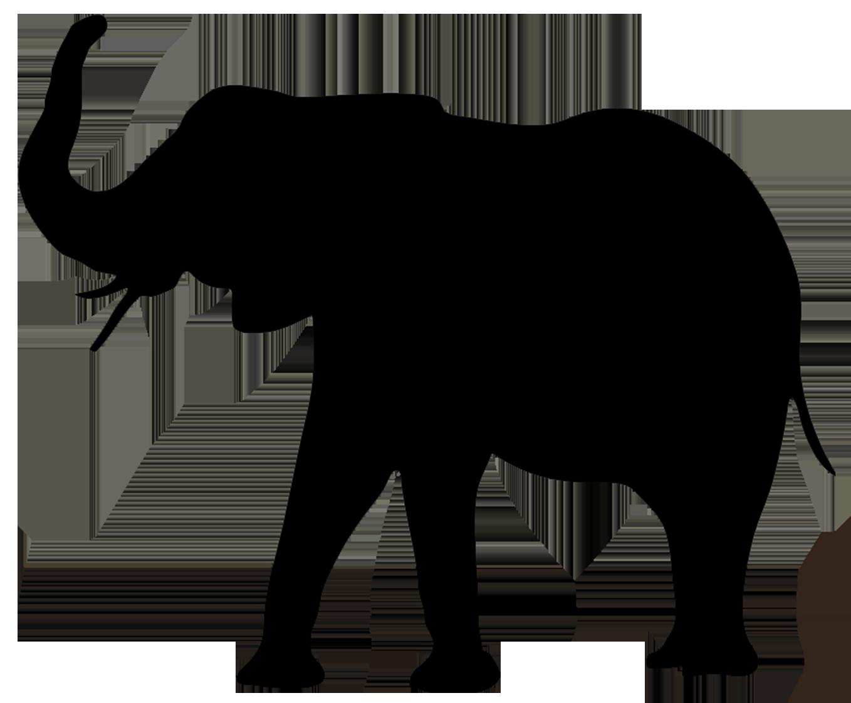 Elephant Clip Art Elephant Silhouette Animal Silhouette Elephant Clip Art