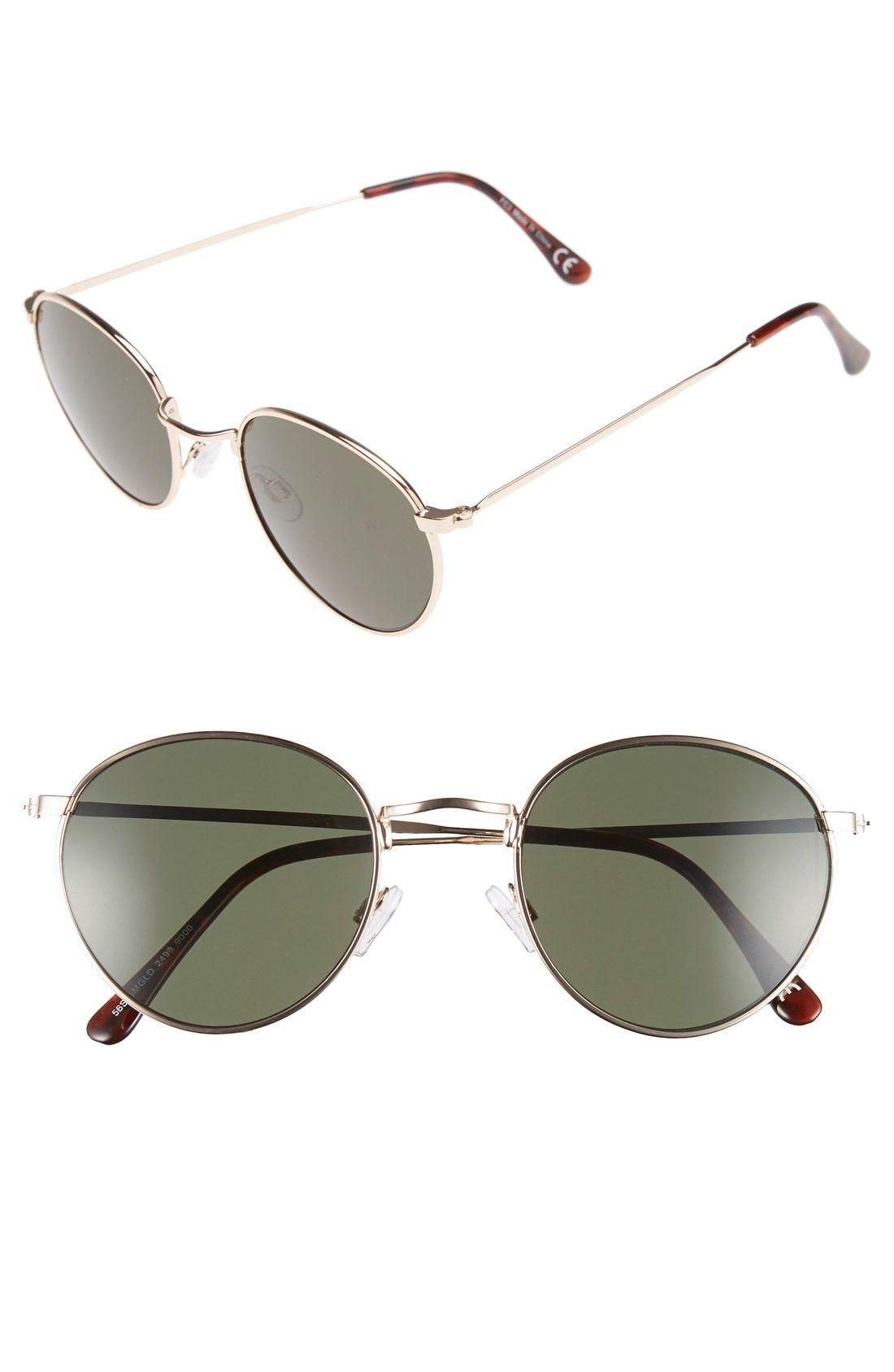Topman 50mm Round Sunglasses | Fashiondoxy.com Description - Free shipping and returns on Topman 50mm Round Sunglasses at Fashiondoxy.com. Round metal frames create dashing retro style on lightweight, full-coverage sunglasses that go the distance as an everyday essential.