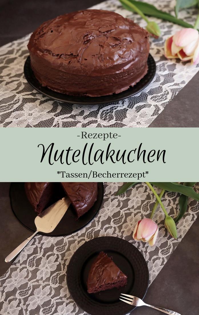 Nutellakuchen - Tassenrezept - The inspiring life
