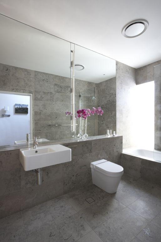 Modern House Renovation Three Volumes Building Design Idea Grey Modern Bathrooms Modern Bathrooms Interior Bathroom Design
