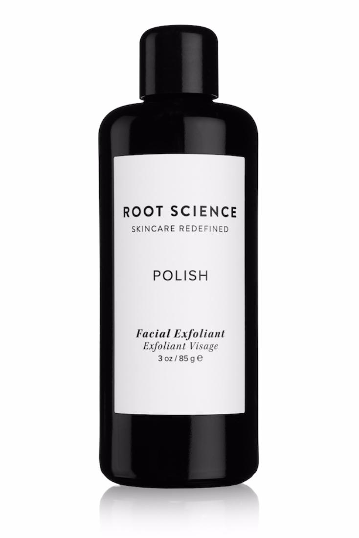 Root Science Polish Facial Exfoliant, $60