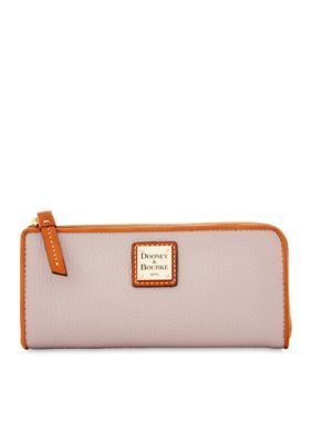 Dooney  Bourke  Leather Zip Wallet