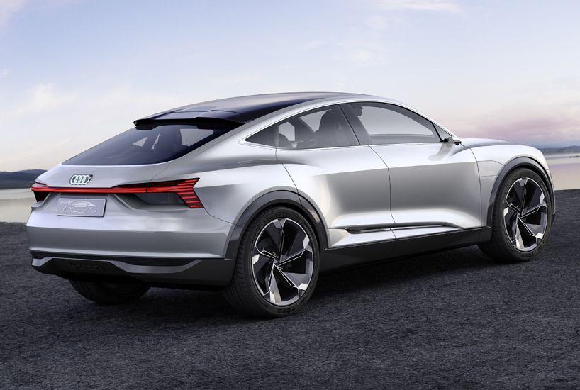 Audi E Tron Sportback Electric Concept Car Designboom Audi E Tron E Tron Concept Cars