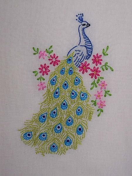 Hand embroidery simple designs g