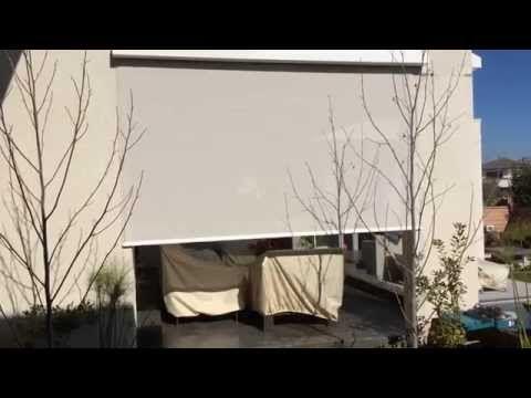 Toldos verticales para terrazas Roller Blinds Chile toldos