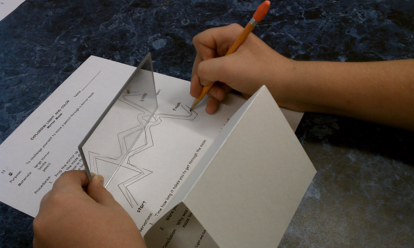 Teaching Mrs Lazenby Mirror Maze Mirror Reflection Science For Kids