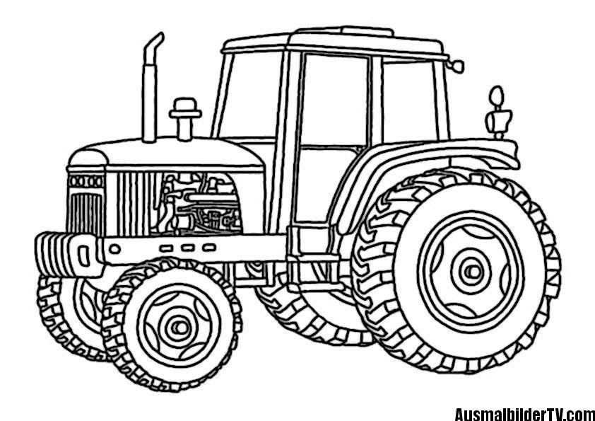 traktor ausmalbilder  ausmalbilder malvorlagen und