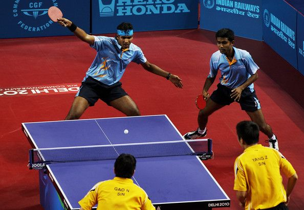 19th Commonwealth Games Day 10 Table Tennis Vzxpukhqp2bl Jpg 594 411 Table Tennis Most Popular Sports Sports