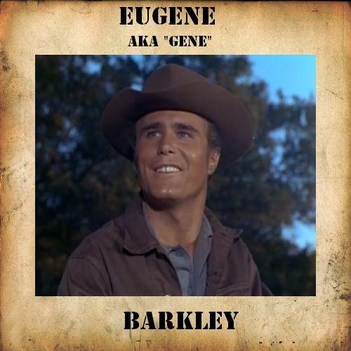 5 Eugene Barkley Of The Big Valley Favorite Westerns Pinterest