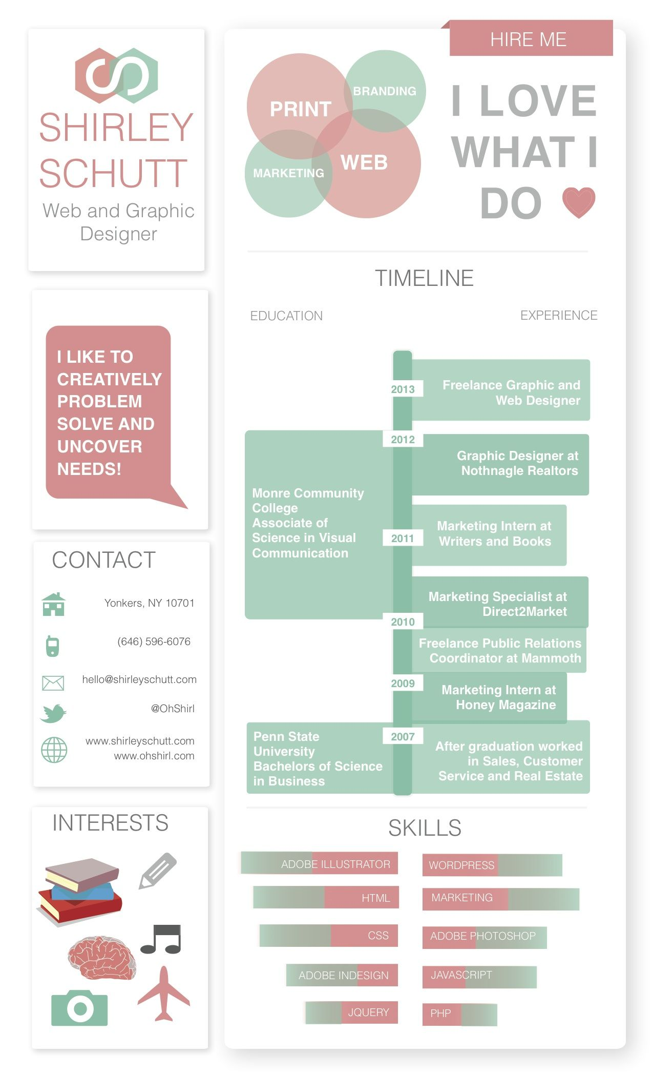 Resume Best Graphic Design Resumes i liked that there was very little text on this and find pin more graphic design