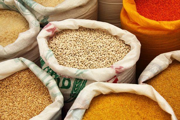 Various Food In Bags