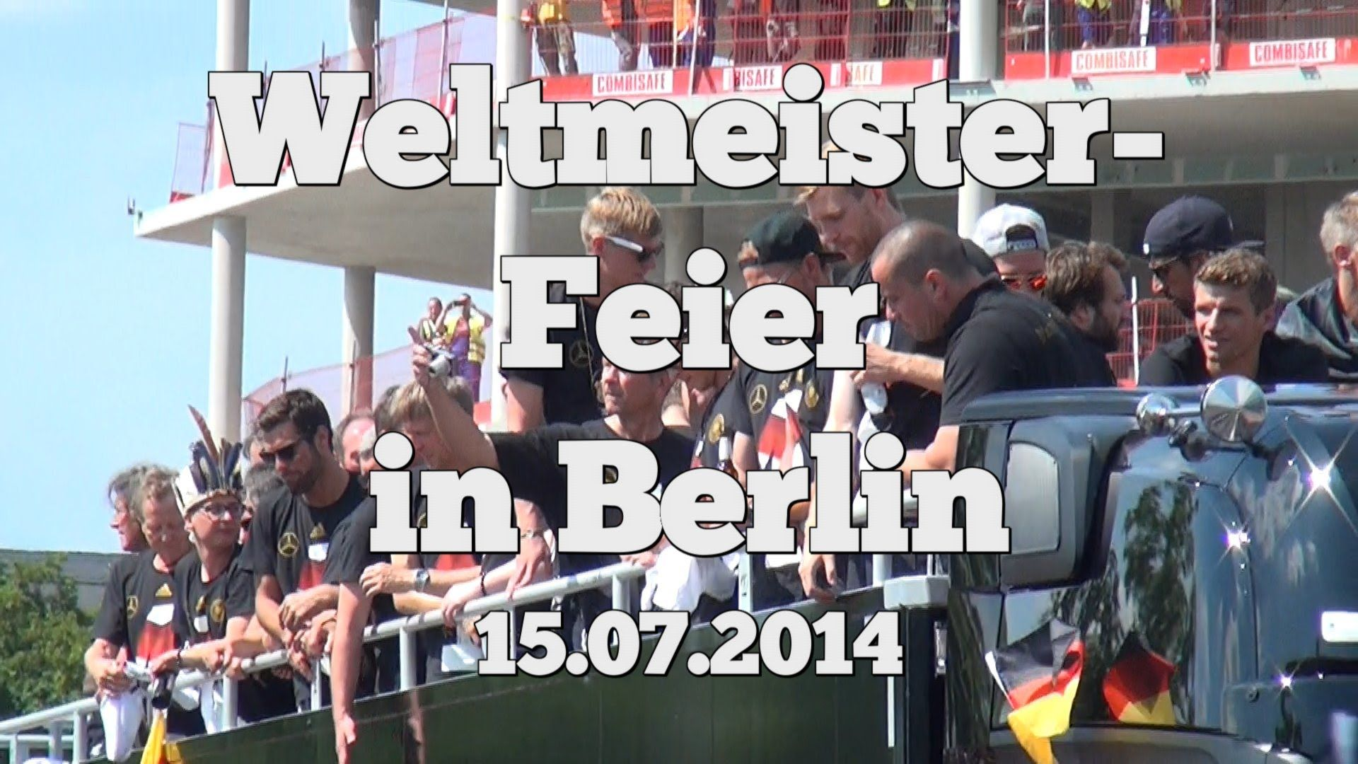 Weltmeister-Siegesfeier in Berlin 15.07.2014 aus Fan-Sicht