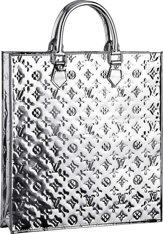 Louis Vuitton Sac Plat Monogram Miroir Top Handle  0951857b1d6cc
