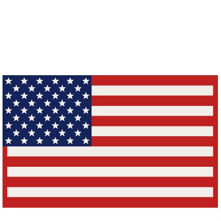 American Flag Svg Scrapbook Cut File Cute Clipart Files