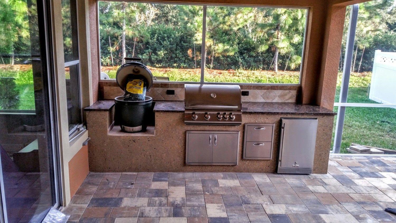 Green egg outdoor kitchen plans jubizfo pinterest