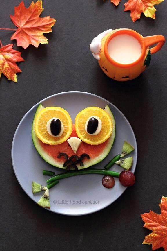 25 creative ideas for healthy food babies pinterest kid foods owl and food inspiration