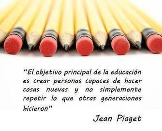 CUED: Aprender, no es repetir lo de siempre, si no crear ideas nuevas!
