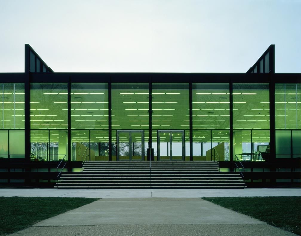 Mapping Mies van der Rohe's Most Important Buildings ...