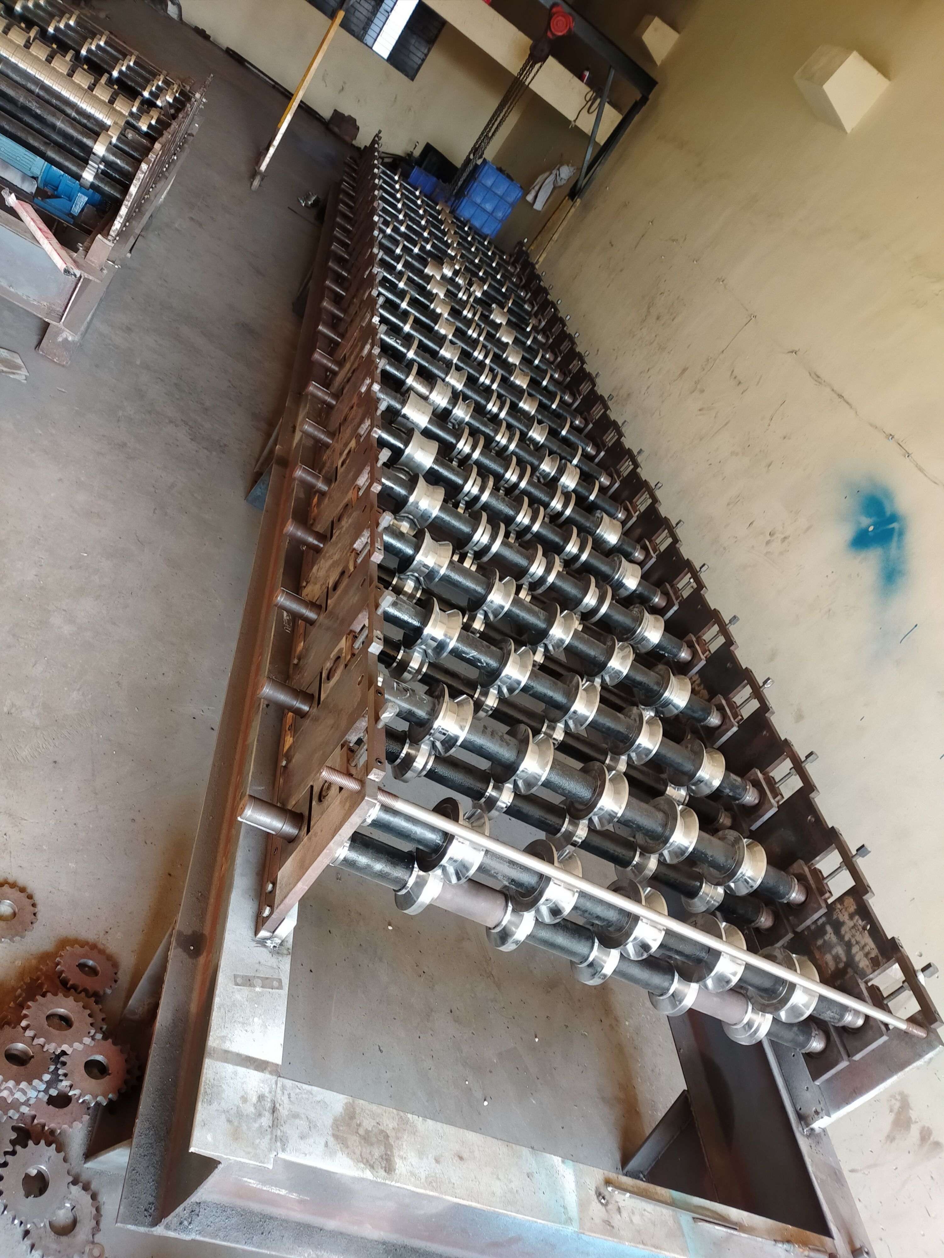Roofingtilemakingmachine We Offering Finest Quality Roof Tile Making Machine To Clients This Is The Fastest Machine On The Mark Making Machine Roof Tiles Tiles