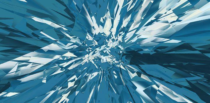 Broken glass littlegreenshoots broken glass art art