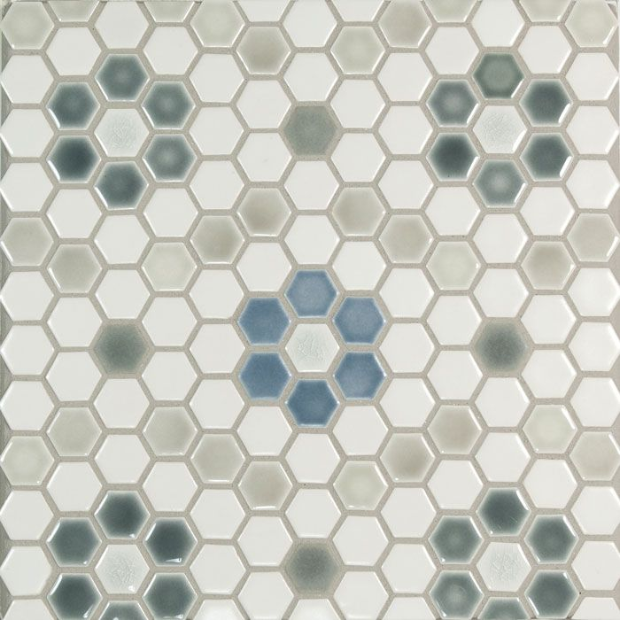 1 Hexagon Mosaic Pratt Larson Hexagonal Mosaic Hexagon