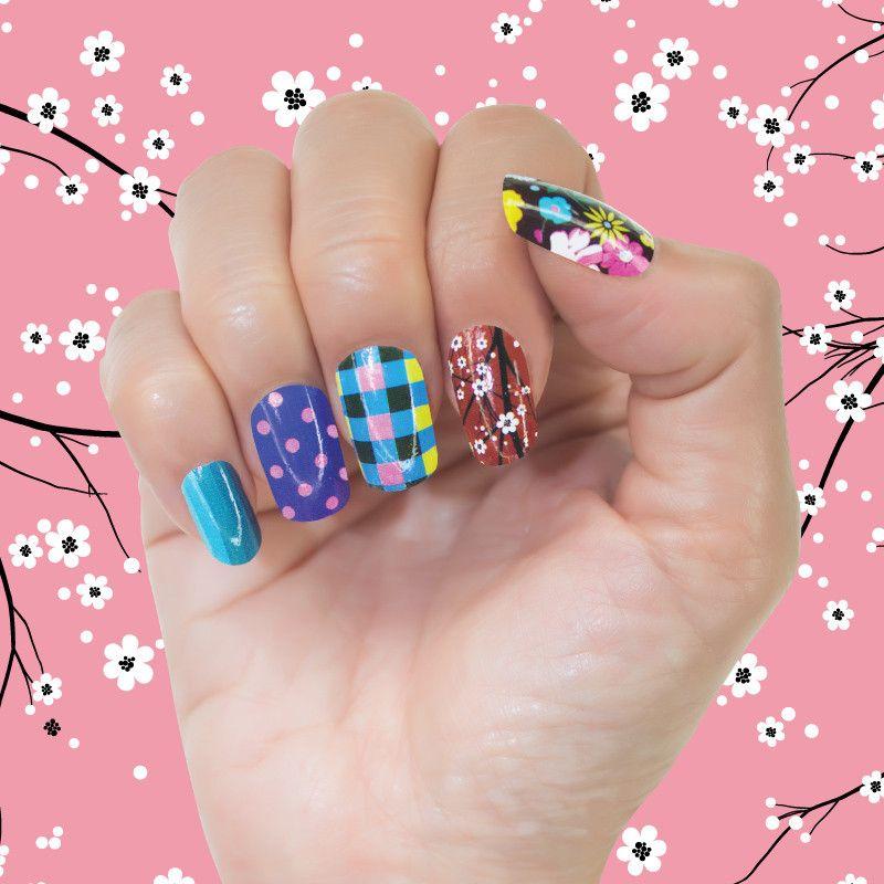 Fabric Mix   Nails   Pinterest