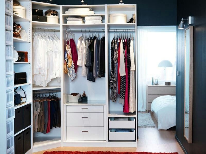 Curved Angle Instead Of Right Angle Bedroom Organization Closet Closet Storage Systems Closet Bedroom