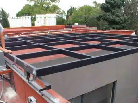 Domo Automatico Youtube Re Tractable Roof Ideas Building A House Roof Design House Design