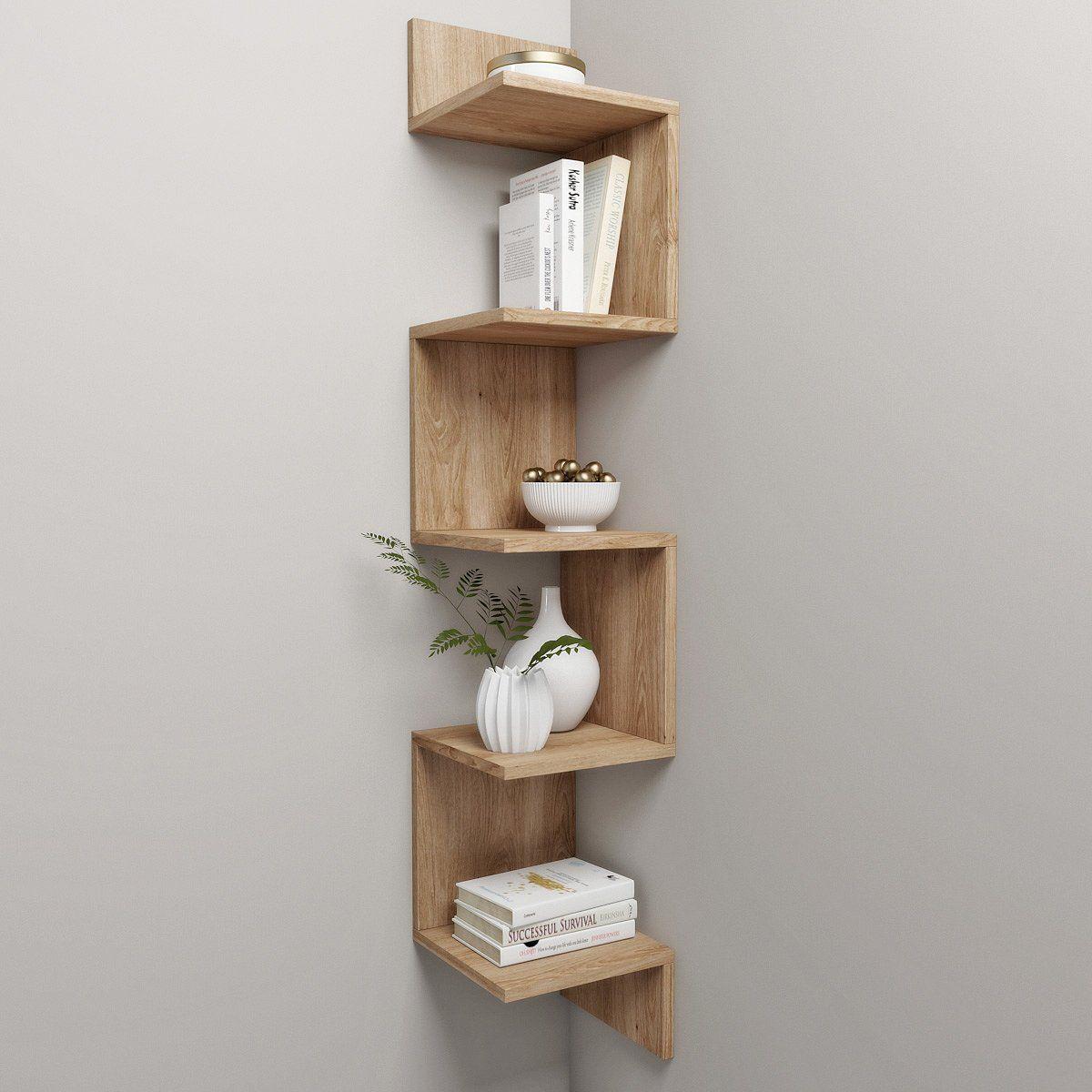 Corner Shelf And Decor Yatak Odasi Ic Tasarimi Ev