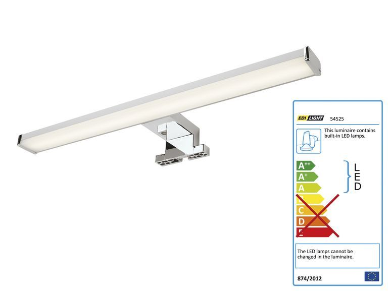 LIVARNO LUX® LED Bad Spiegelleuchte 1 Bathroom Pinterest - badezimmer spiegelleuchten led