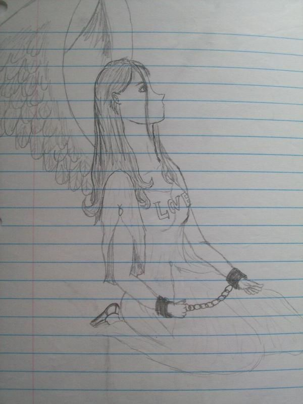 Angel of Love Chained by autumnrose83 on DeviantArt