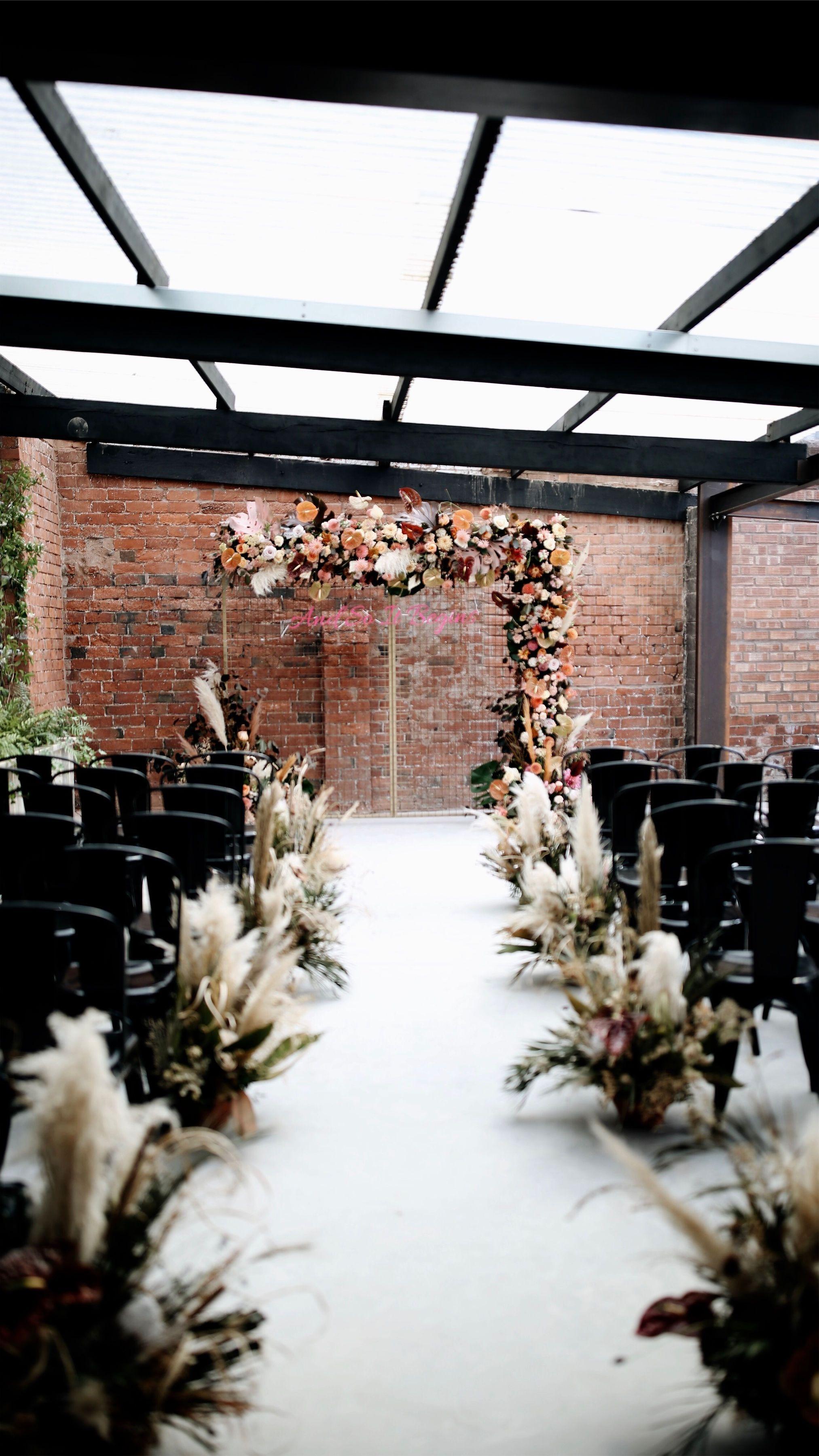 The Shack Revolution - Industrial Wedding Venue